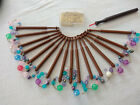 16 Lace Making Bobbins with Pins
