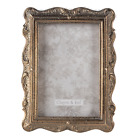 """Vintage Style Photo Picture Frame 6""""x 4"""" Ornate Distressed Antique Gold Bronze"""