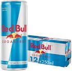 Red Bull Sugar Free Energy Drink 12x250ml Original Zero Sugar 0 Carbs Pack of 12