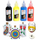 Glass Paint Set Painting Kit Black Outliner Transparent Opaque Stained Paints