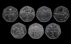 Isle of Man 50p VE Day Victory 7 Coin Set Choose Your Coin Fifty Pence - Circ
