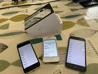 Old iPhone Bundle. iPhone 4, 5c and 6. A1332 A1507 A1586