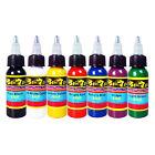 Solong Tattoo Ink 7 Colors Set 1oz 30ml/Bottle Tattoo Pigment Kit TI301-30-7