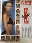 The Sun Page 3 Girls Calendar 1992 Rachel Garley Kathy Lloyd Tracey Elvik