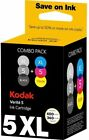Multipack Kodak 5XL Verite Ink Cartridge For all Kodak Verite 55 60 65 Printers