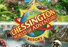 2 x Chessington World Of Adventures Tickets 13th October 13/10 Paper Tickets