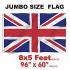 New Union Jack Flag Large Great Britain British Sport Olympics Jubilee 8 X 5FT