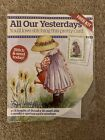 All Our Yesterdays Girl Garden Card Cross Stitch Kit by Faye Whittaker