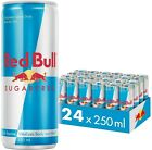 Red Bull Energy Drink Sugar free 24 x 250ml Cans FULL CASE