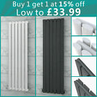 Vertical Designer Radiator Oval Column Flat Panel Central Heating Radiators
