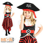 Pirate Girls Fancy Dress World Book Day Childs Kids Halloween Party Costume