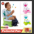 3 in 1 Toddler Kids Baby Toilet Trainer Potty Urinal Training Seat Music Chair