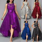 Women Formal Lace Maxi Dress Prom Evening Party Cocktail Bridesmaid Wedding Gown