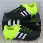 Adidas Ace 15.2 FG/AG Leather Black/Yellow Men s Football Boots B32800