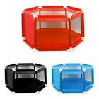 6 Sides Baby Playpen by house with Round Zipper Door Play Pen for Toddlers