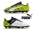 Puma One 5.4 FG/AG Football Boots Boys Girls Kids Junior Size 10,1,2,3,4,5 NEW