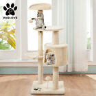 Cat Kitten Tree Scratcher Climbing Activity Centre Scratching Post Toy Cat Tower