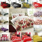 Duvet Cover with Pillow Case Quilt Cover Bedding Set in Single Double King size
