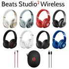 Genuine Beats by Dr. Dre Studio 2.0 Wireless Over-Ear Headphones with Microphone