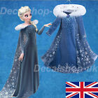 Frozen 2 Elsa Dress Up Girls Fancy Cosplay Kids Costume Party Outfit NEW