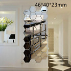 3D Mirror Tiles Mosaic Wall Stickers Self Adhesive Bedroom Art Decals Home Decor