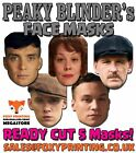 Peaky Blinders Celebrity Party Face Masks - Tommy Shelby or FULL PACKS Lot s