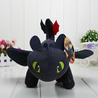 HOT How to Train Your Dragon Plush Toothless Night Fury Soft Toy Doll 30/40/60cm