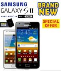 Brand New Samsung Galaxy S2 -i9100 16GB White Black Unlocked Android Smartphone