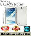 Brand New Samsung Galaxy Note 2 N7100 16GB Gray White Unlocked Android Smartphon