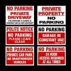 No Parking / Private Property Sign, Sticker, Metal - All Sizes - All Materials