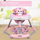 Fold Baby Walker First Step Push Along Bouncer Activity Music Ride On Car Melody