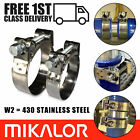 Mikalor Supra Hose Clamps Stainless Steel W2 Clips Heavy Duty | Exhaust | T Bolt