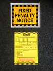 10 JOKE FAKE PRANK PARKING TICKETS!! BEST ON EBAY!!!