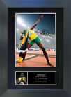 USAIN BOLT Olympic Star Signed Mounted Autograph Photo Prints A4 267