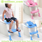 Foldable Baby Potty Infant Kids Toilet Chair Portable Training Seat With Ladder