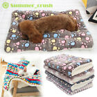 Large Pet Dog Cat Blanket Bed Puppy Cushion House Soft Warm Kennel Washable Mat