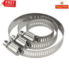 UK Stainless Steel Hose Clips Pipe Clamps - Hose Clip  - British Type