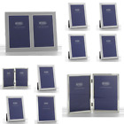 Plain Satin Silver Photo Picture Frame Certificate Home Decorations Gifts