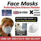 FACE MASK Mouth & Nose Protection Face Masks CAN PROTECT FROM AIRBORNE PARTICLES