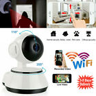 HD Night Vision Wireless WiFi Smart Baby Dog Monitor Video Camera Home Security