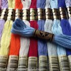 2 - 60 DMC CROSS STITCH THREADS SKEINS - PICK YOUR OWN COLOURS FREE PP