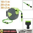 Automatic Retractable Water Hose Reel Wall Mounted 3 Sizes Storage Garden
