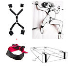 Adult Sex Exciting Love Game Toys Handcuffs Bedroom Bandage Strap Rope Eye Mask
