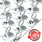 Personalised Pet ID Tags Breed Bone Dog Name Identity Tags Pet Tag Engraved FREE