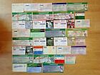 England Used Rugby Tickets 1954 - 2014