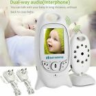 Baby Monitor 2.4GHz Color LCD Wireless 2 Way Audio Night Vision Digital Video