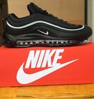 Nike Air Max 97 triple all Black With White strip Brand New SIZES FROM UK 3-10