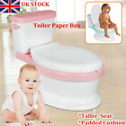 NEW Padded Toddler Potty Training Toilet Seat Kids Baby Child Fun Loo Trainer