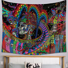 Hippie Trippy Tapestry Psychedelic Wall Hanging Throw Blanket Bedroom Home Decor
