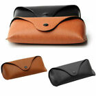 Leather Glasses Case Eye Sunglasses Protector Holder Box Case Cover Storage Hard